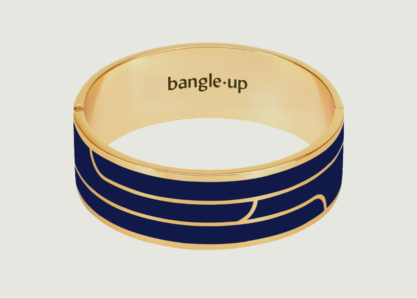 Bracelet Gaya Bleu Nuit - Bangle Up