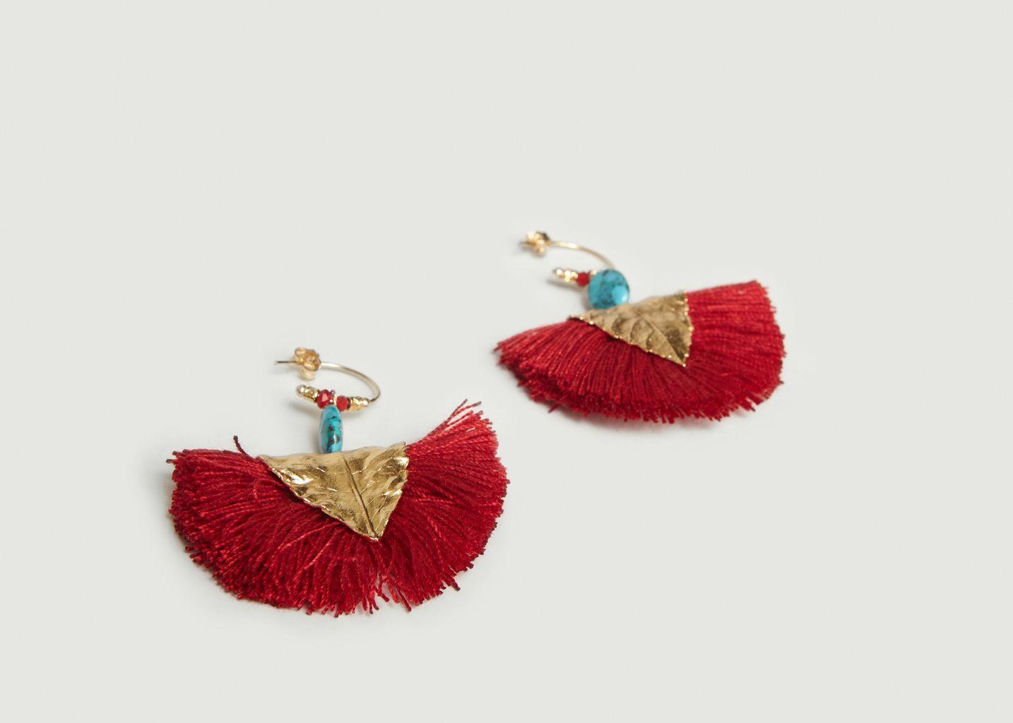 Boucles d'Oreilles Havane - La Paire  - Elise Tsikis