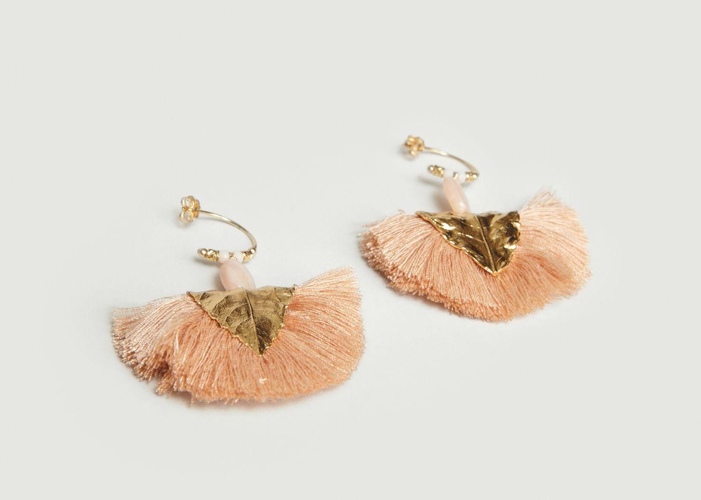 Boucles d'Oreilles Havane - Elise Tsikis