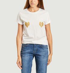 T-shirt coeurs Elise Chalmin