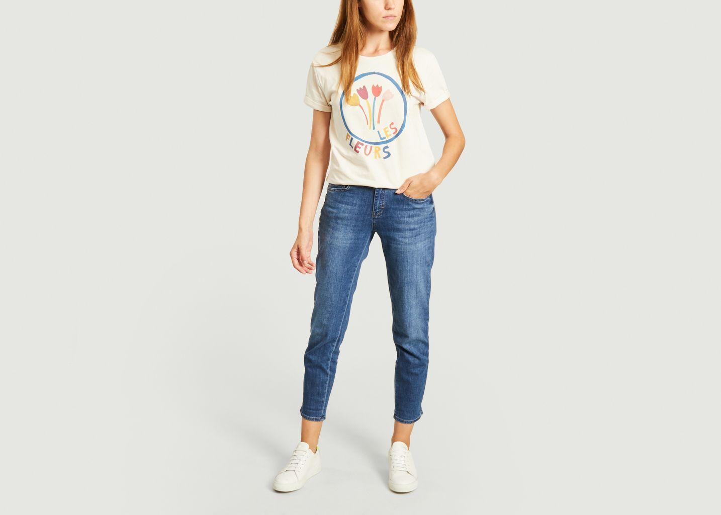 T-shirt les fleurs - Elise Chalmin