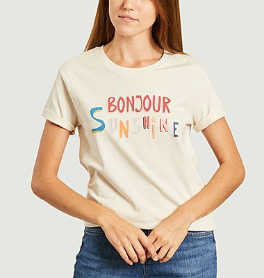 T-shirt bonjour sunshine