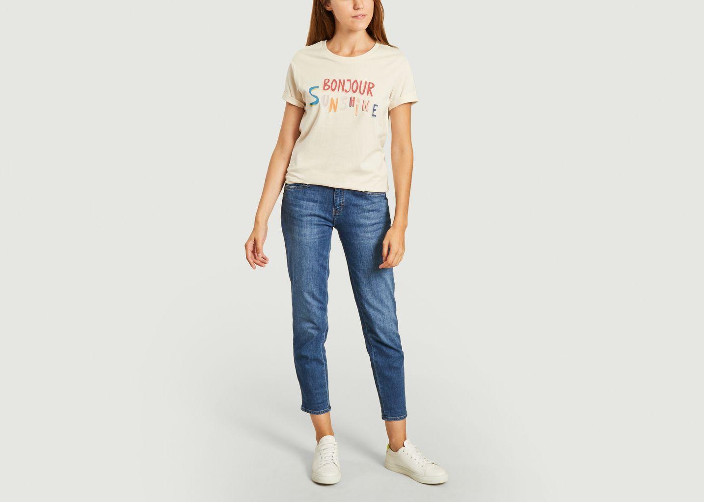 T-shirt bonjour sunshine - Elise Chalmin