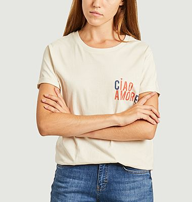 T-shirt ciao amore