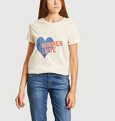 Tee-shirt summer love
