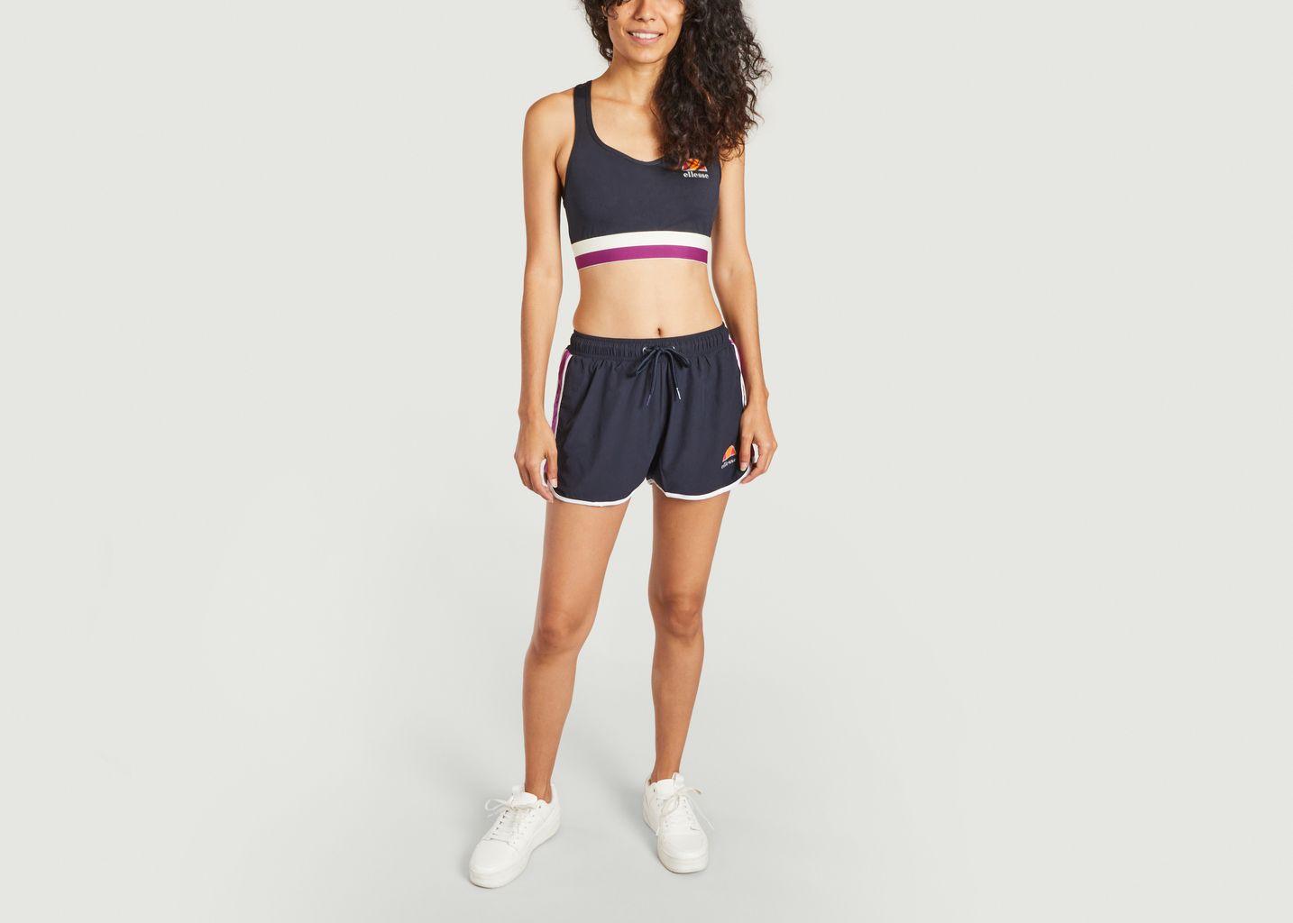 Short de sport avec bandes contrastées Liggo - Ellesse