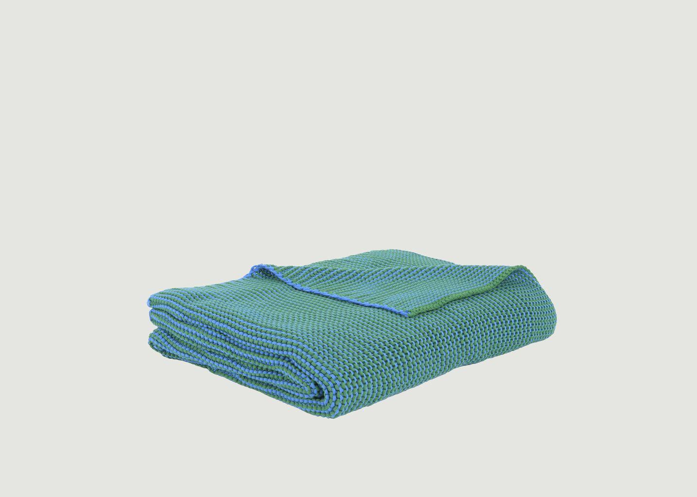 plaid roccamare mix bleu p trole eno studio l exception. Black Bedroom Furniture Sets. Home Design Ideas