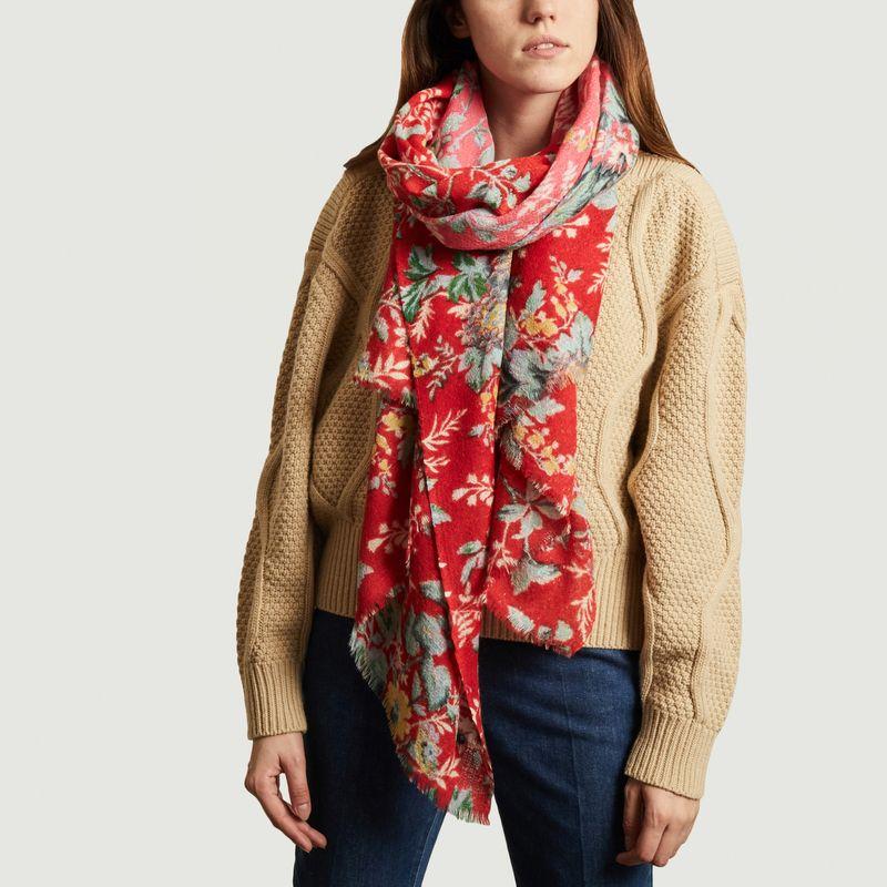 Etole en laine Epice Fleur 2 - Epice