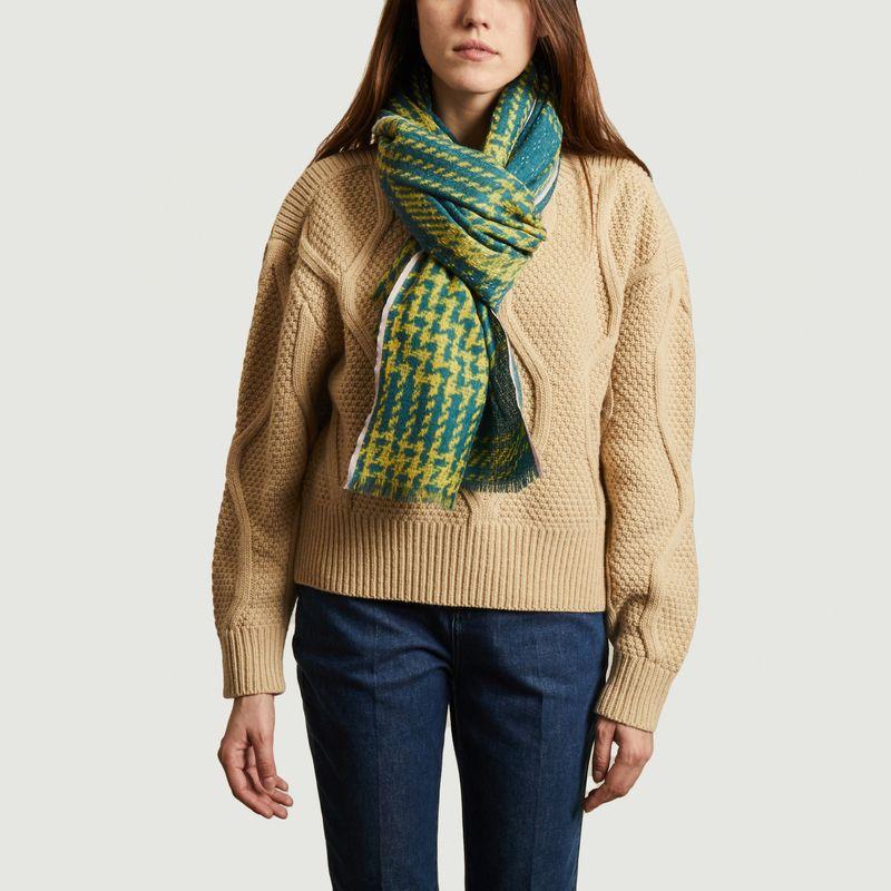 Etole en laine Tweed Check 1 - Epice