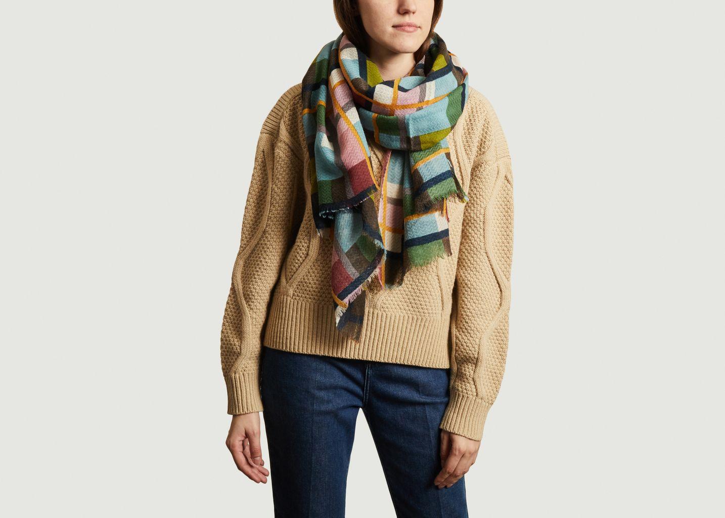 Etole en laine à carreaux PW 2150 - Epice