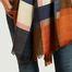 matière Écharpe en laine à carreaux - Epice