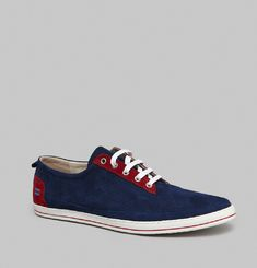 Slim Suede Trainers