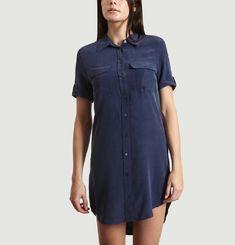Slim Signature Shirt Dress
