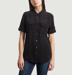 Slim Signature Short Sleeve Shirt