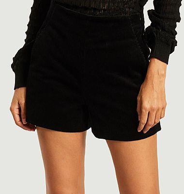 Lena corduroy shorts