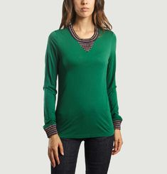 Green Charlie Top