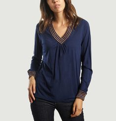 Charlie V Neck Top