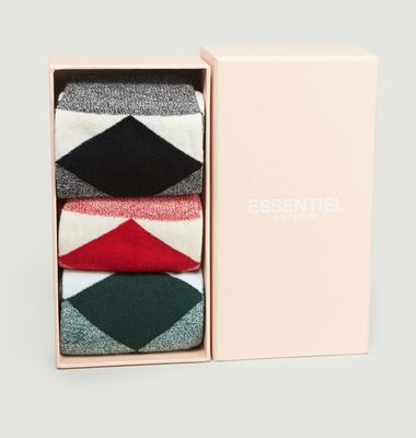 Lot de 3 Chaussettes Reggie