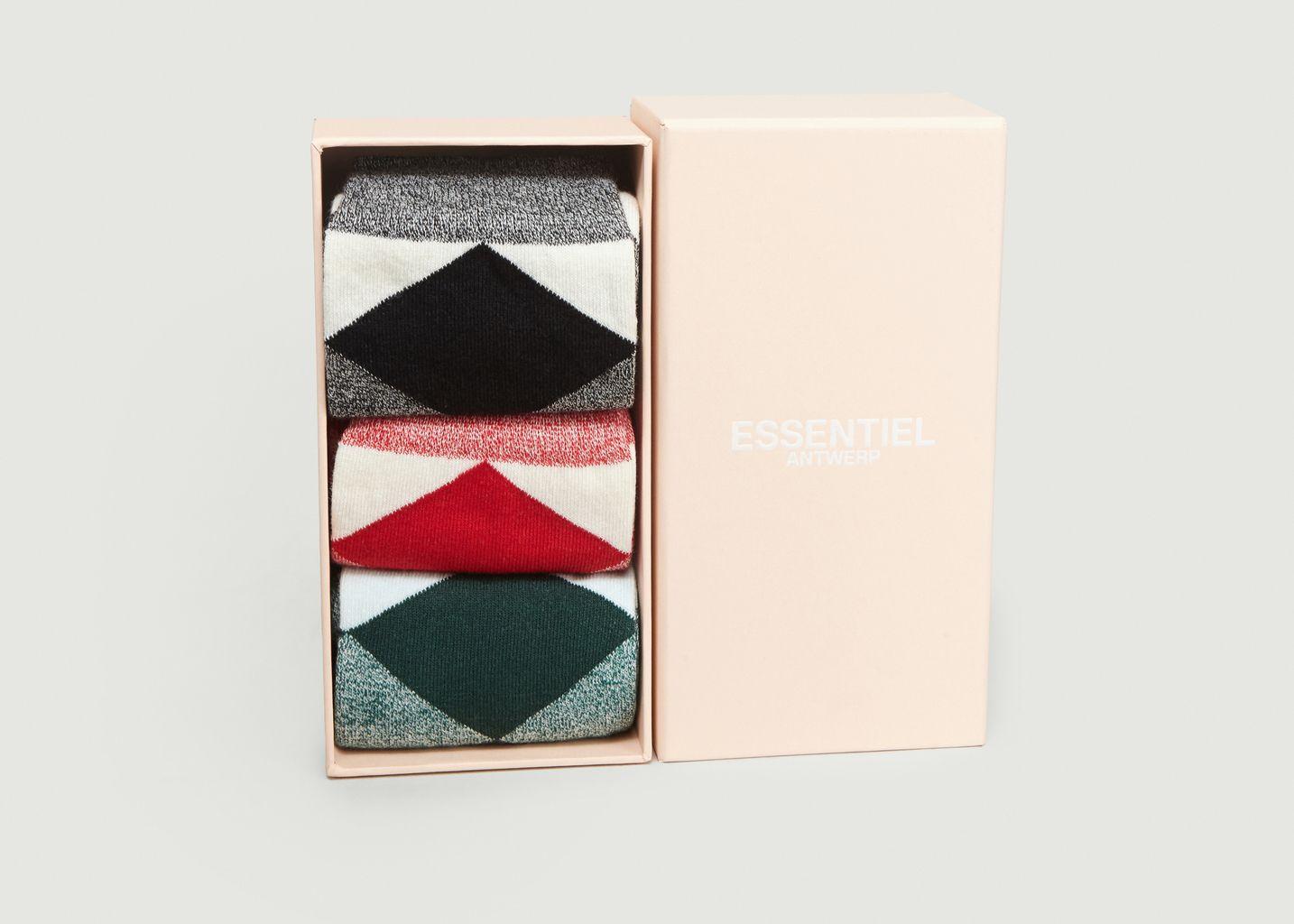 Lot de 3 Chaussettes Reggie - Essentiel Antwerp