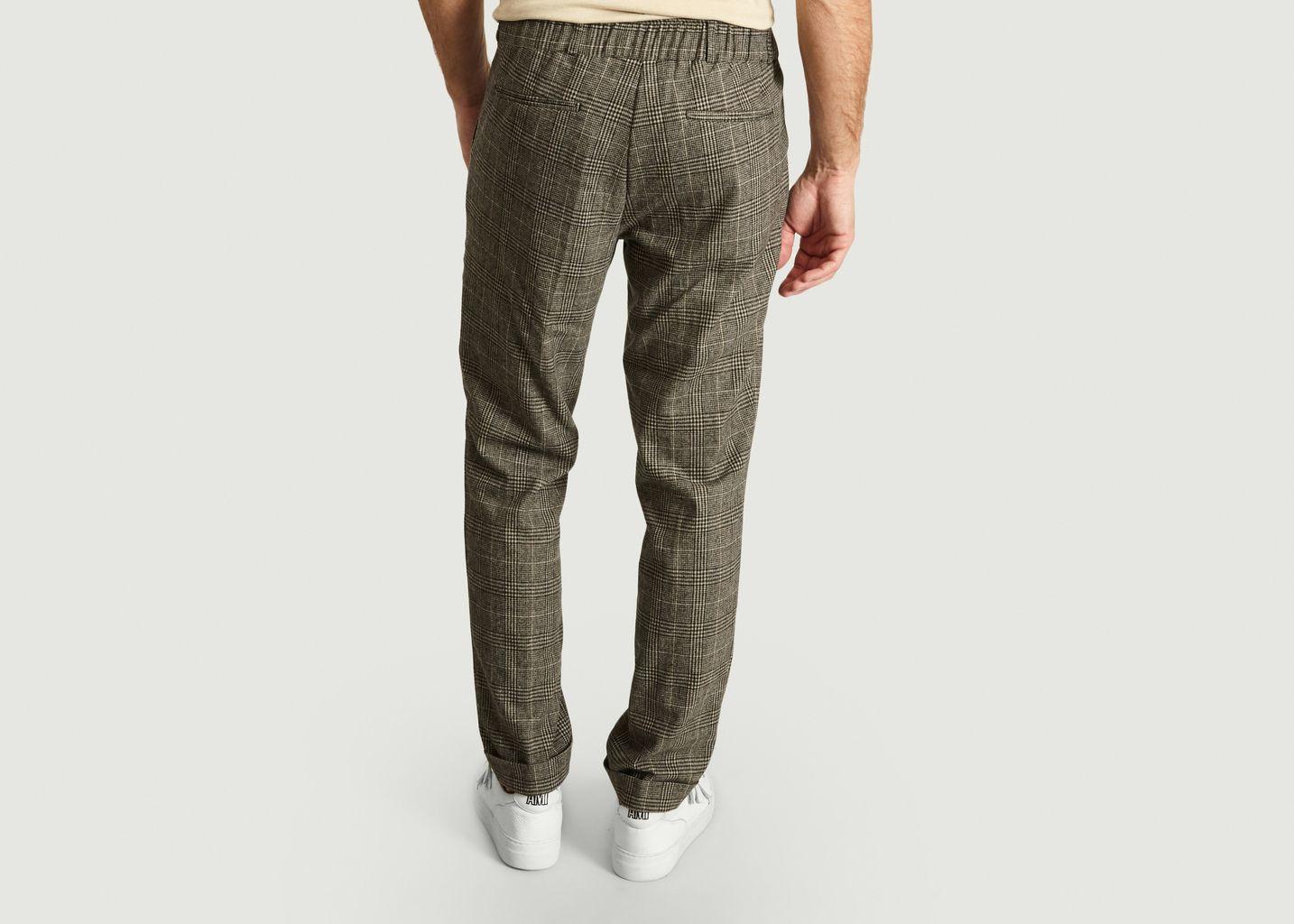 Pantalon De Costume Motif Prince-De-Galles Nextdoor - Essentiel Antwerp