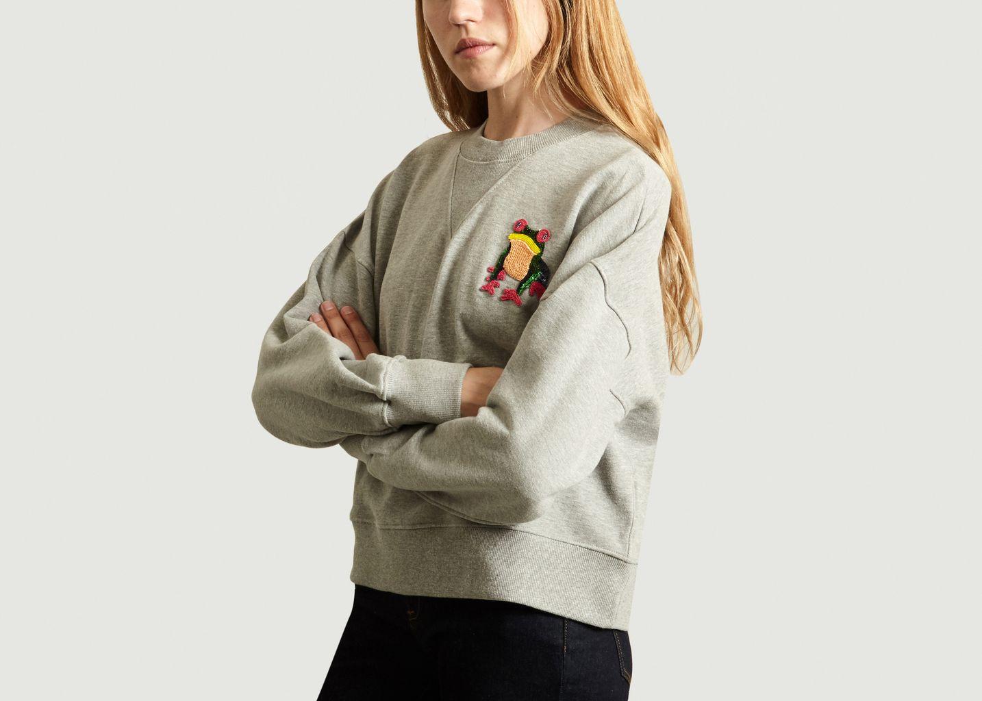 Sweatshirt Grenouille - Essentiel Antwerp
