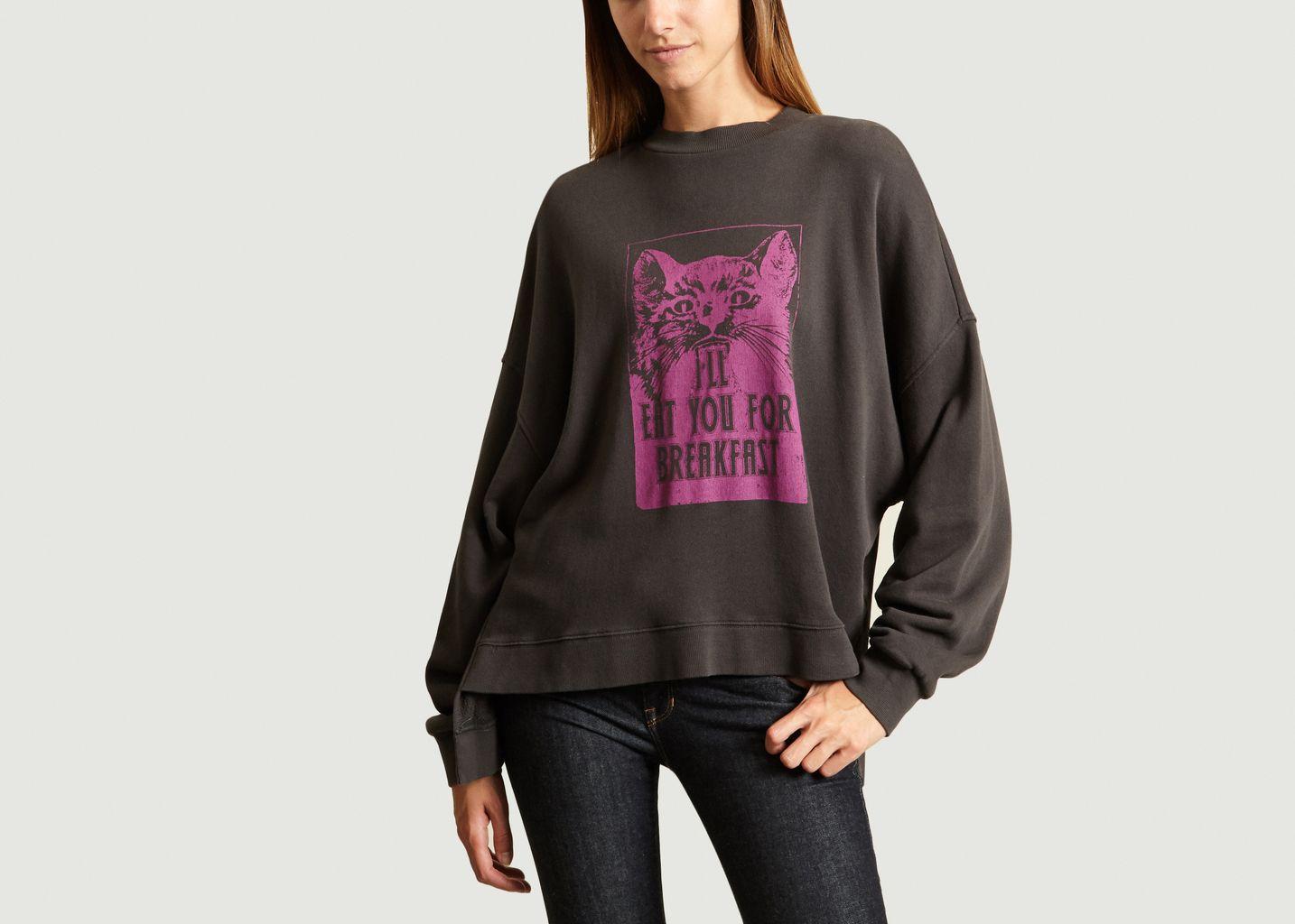 Sweatshirt Cat - Essentiel Antwerp