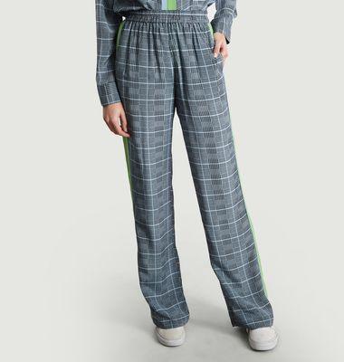 Pantalon A Carreaux Sorecio