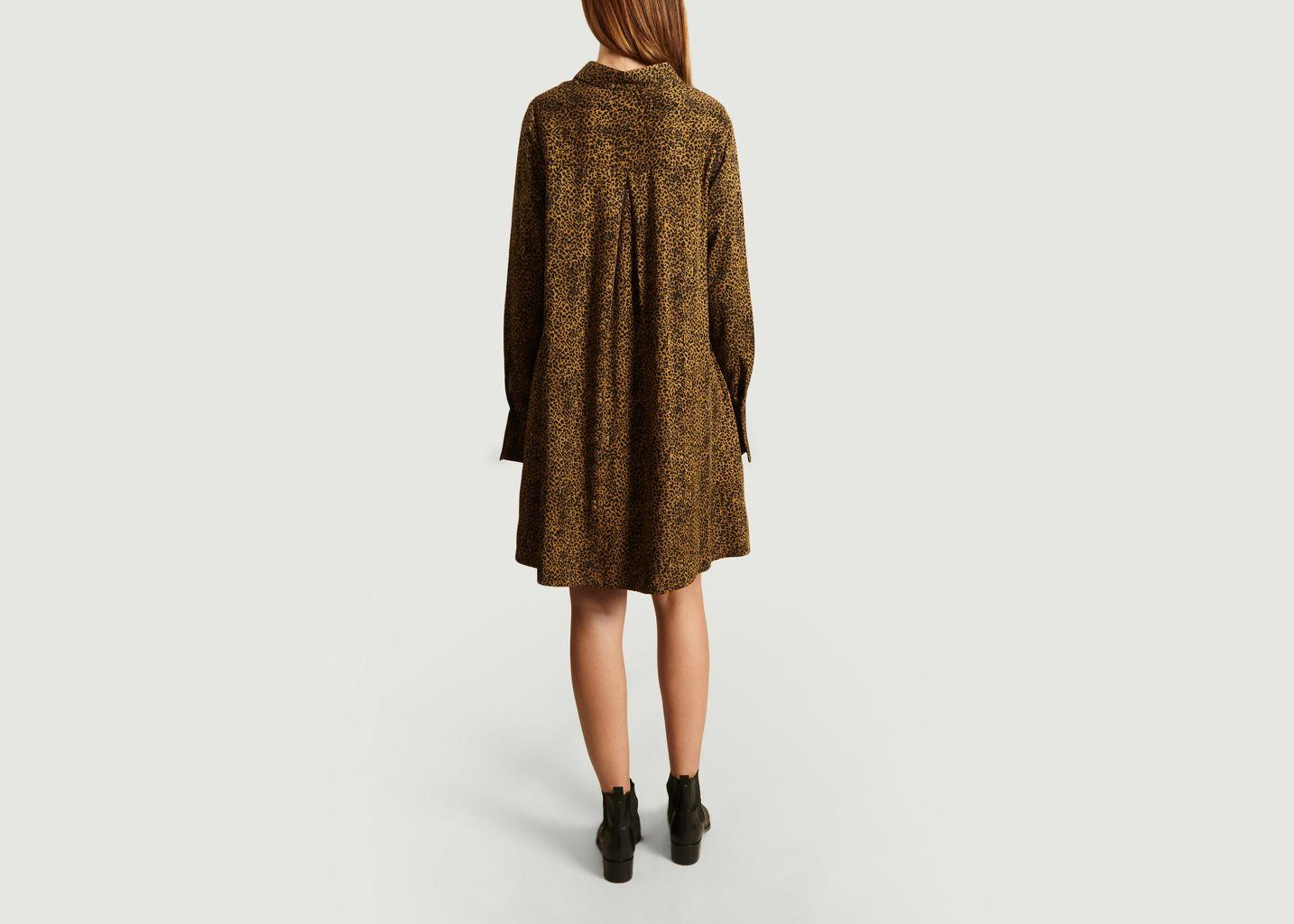 Robe Trapèze à Imprimé Guépard - Essentiel Antwerp