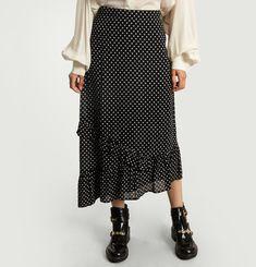 Renaud Asymmetric Skirt