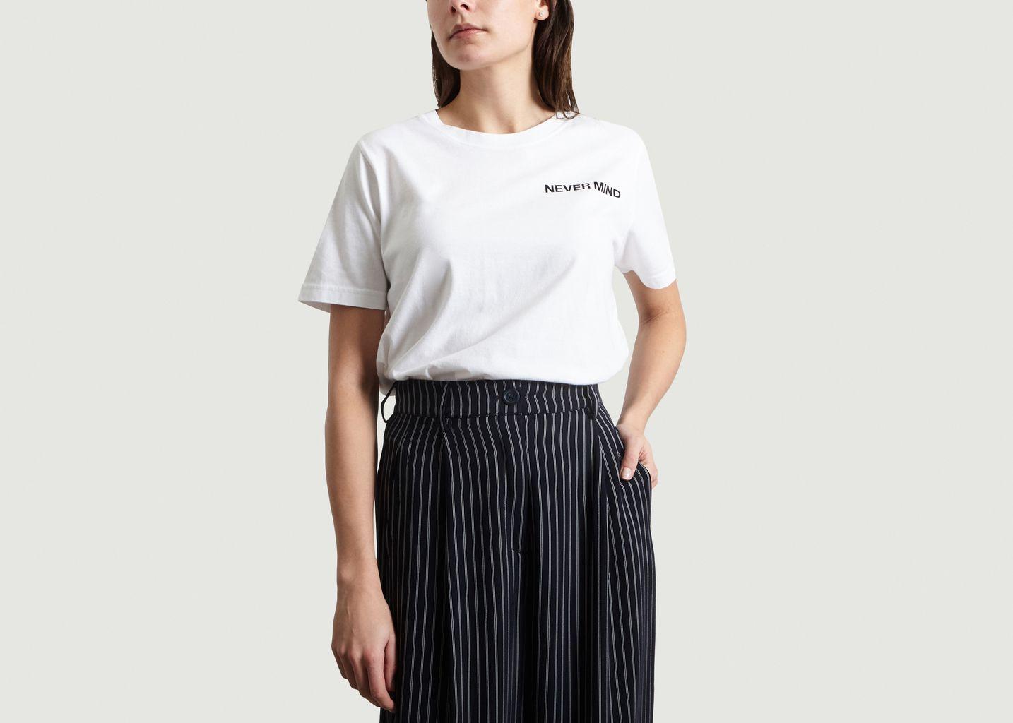 T-Shirt Never Mind - Essentiel Antwerp