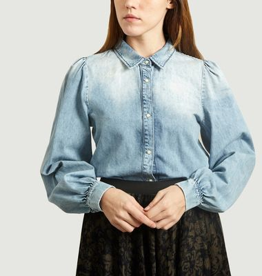 Chemise en Denim Acide Shadow