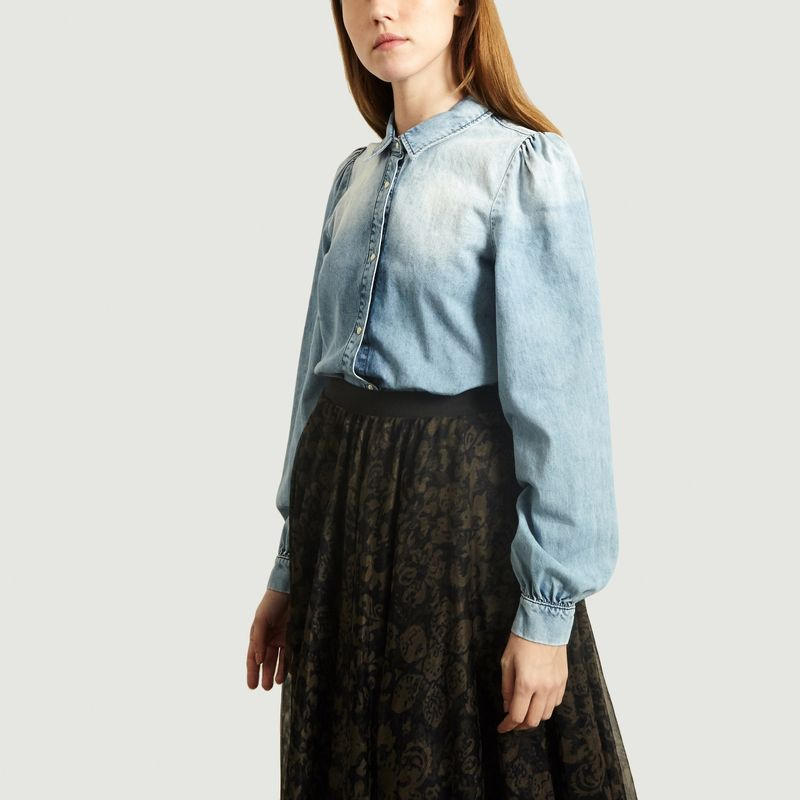 Chemise en Denim Acide Shadow - Essentiel Antwerp