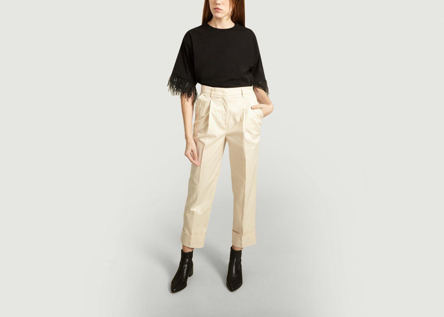 T-Shirt Coton à Plumes - Essentiel Antwerp