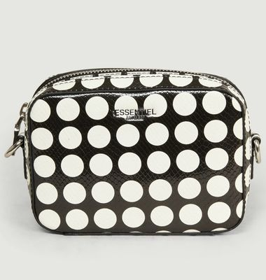 Vlotti Dotted Leather Effect Bag