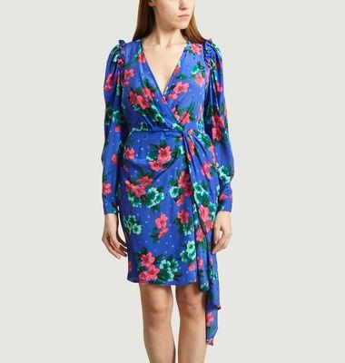 Robe Viesbeth en soie imprimé floral