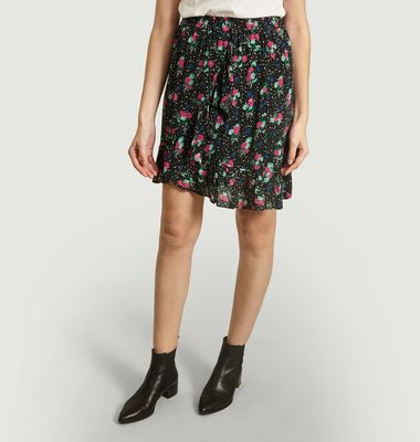 Video Asymmetric Frilled Skirt