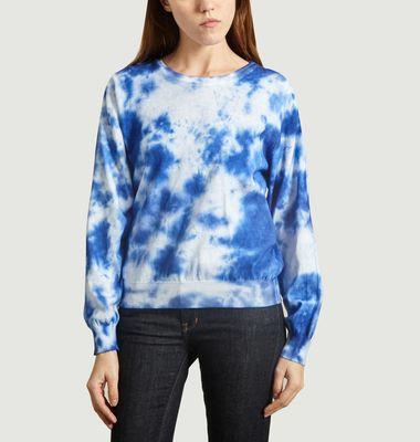 Sweatshirt Coton Verneuil Imprimé Tie and Dye