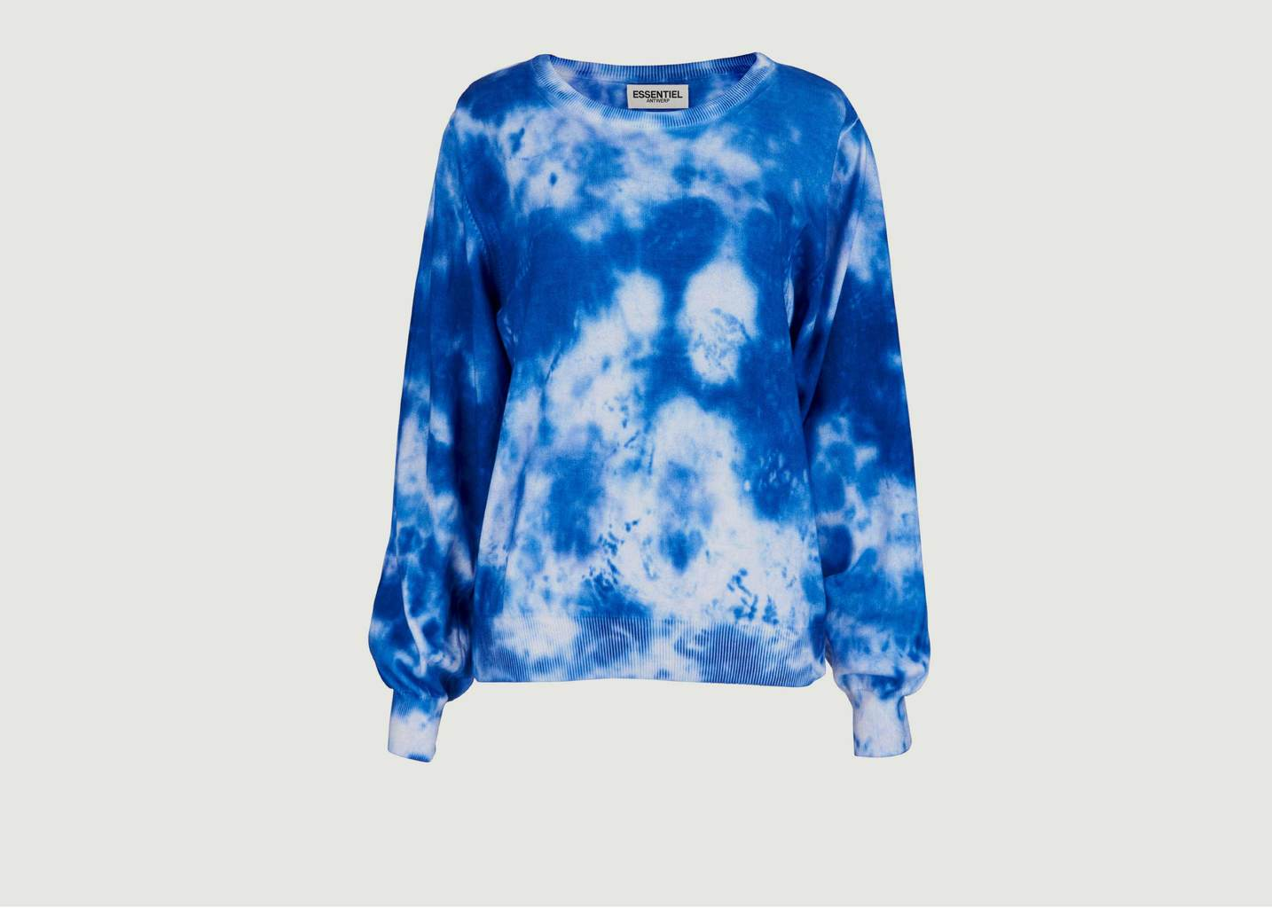 Sweatshirt Coton Verneuil Imprimé Tie and Dye - Essentiel Antwerp