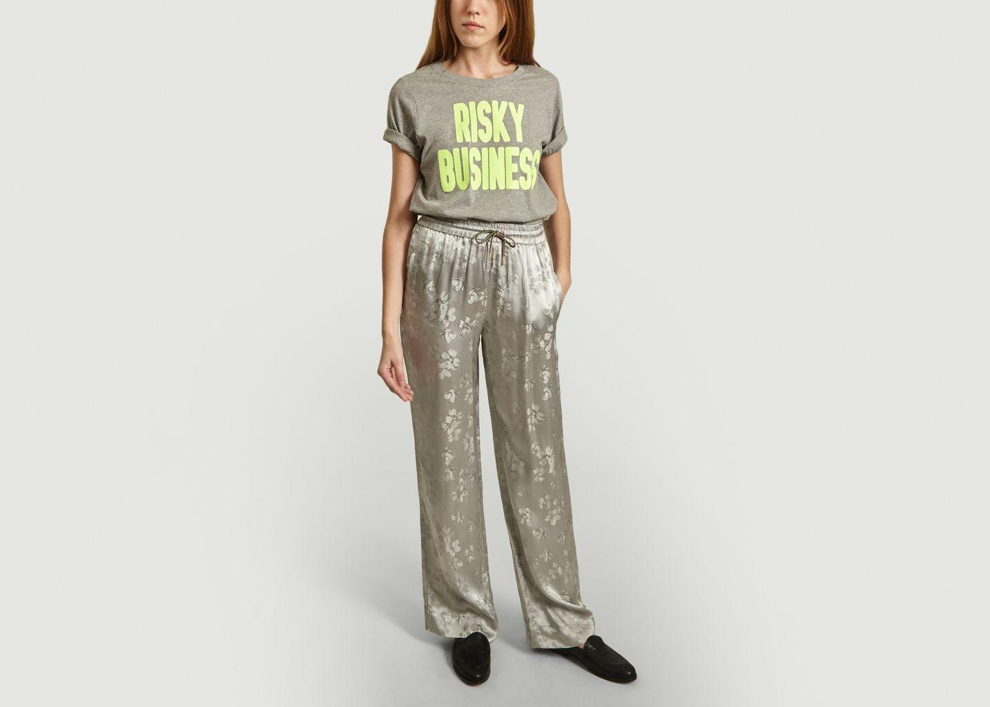 T-Shirt Vlogan Risky Business - Essentiel Antwerp