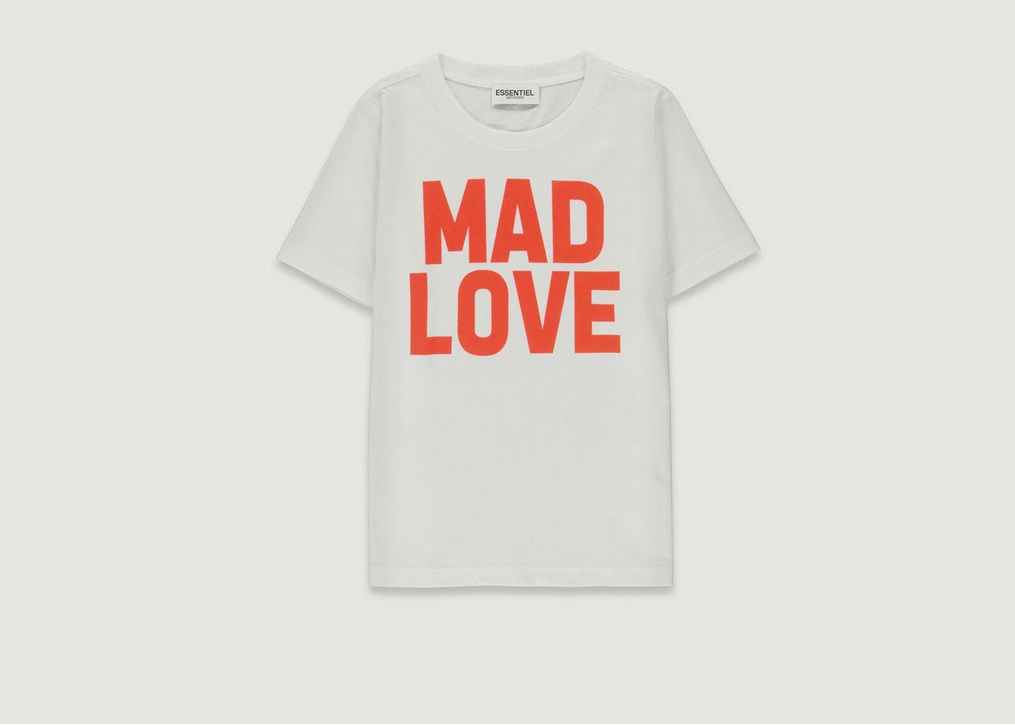 T-Shirt Vlogan Mad Love  - Essentiel Antwerp