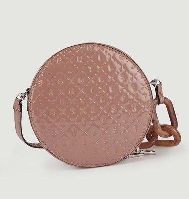 Vibrant Pink Round Bag