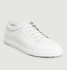 Low 1 Leather Trainers