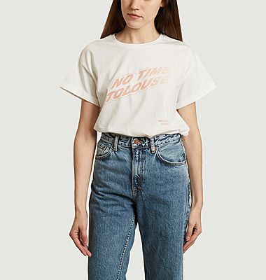 T-shirt No Time Toulouse