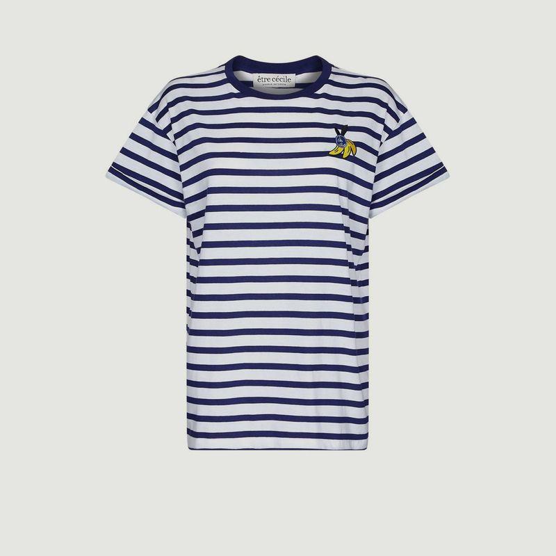 T-shirt oversize Banana Badge - Être Cécile