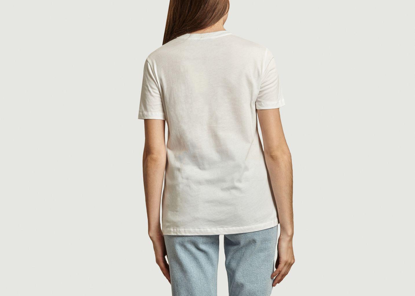 T-shirt en coton bio Bonjour - Être Cécile