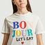 matière T-shirt en coton bio Bonjour - Être Cécile