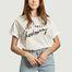 T-shirt oversize en coton bio Chardonnay - Être Cécile