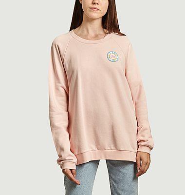 Sweatshirt raglan avec patch Chez Cecile Club