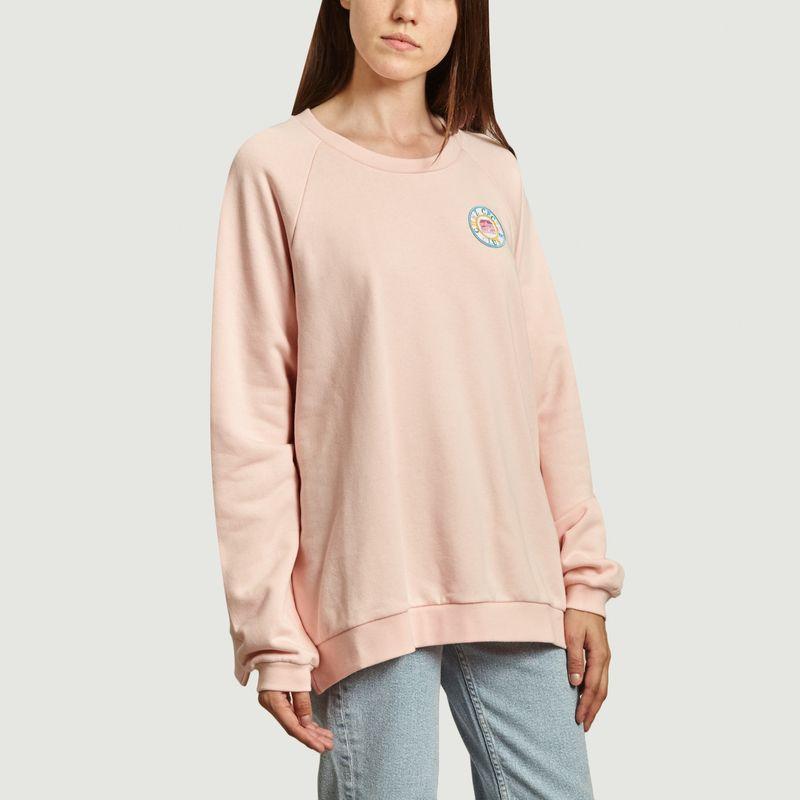 Sweatshirt raglan avec patch Chez Cecile Club - Être Cécile