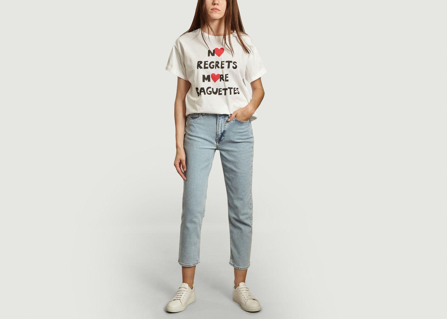 T-shirt oversize en coton bio Nrmb - Être Cécile